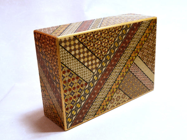 12 Sun 28 Step Koyosegi Japanese Puzzle Box by Mr.Yamanaka