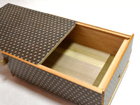 12 Sun 28 Step Kuroasa Japanese Puzzle Box by Mr. Yamanaka