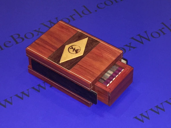 Matchbox Puzzle Box by Robert Yarger (Stickman Puzzles)