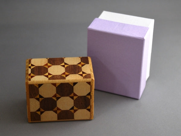 2 Sun 10 Step Kagome Japanese Secret Puzzle Box