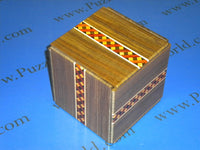 324 Step Standard Super Cubi Japanese Puzzle Box
