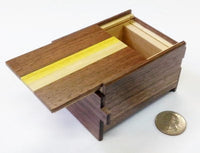 3 Sun 12 Step Natural Wood Japanese Puzzle Box