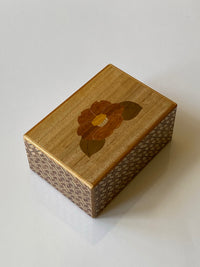 4 Sun 7 Step Sansui Zougan Japanese Puzzle Box