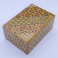 4 Sun 12 Step Yosegi Kuzushi Japanese Puzzle Box