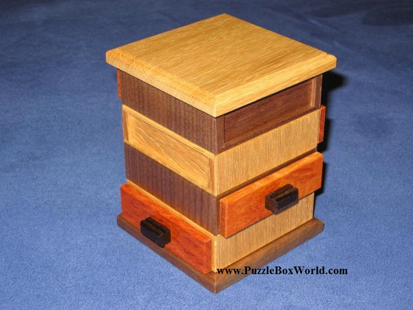 4 Direction Drawer Japanese Puzzle Box