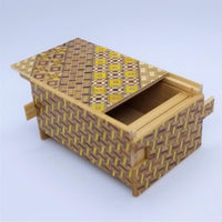 4 Sun 12 Step Yosegi Tagai Japanese Puzzle Box