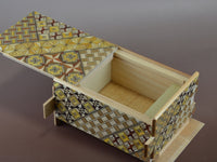 4 Sun 21 Step Yosegi Japanese Puzzle Box