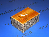 4 Sun 21 Step Sansui Japanese Puzzle Box