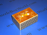 4 Sun 21 Step Tenma Japanese Puzzle Box