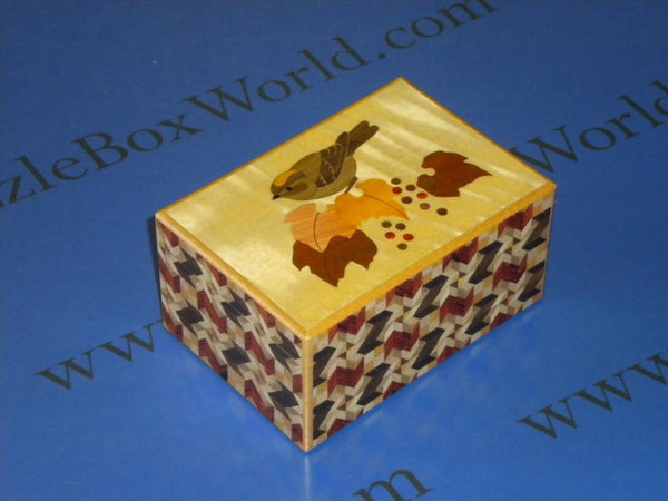 4 Sun 27 Step Bird Zougan Mawariyabane Limited Edition Japanese Puzzle Box