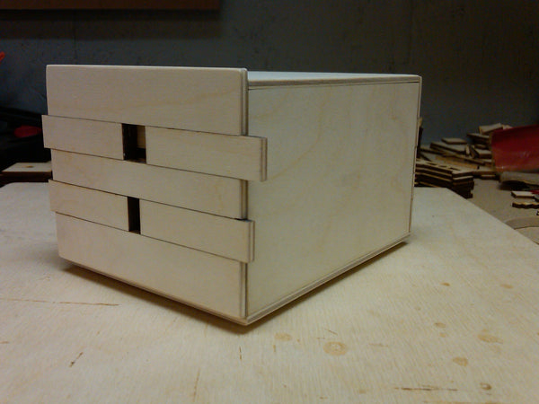 4 Sun 48 Step Puzzle Box (Self Assembly Kit)