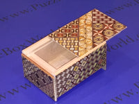 4 Sun 4 Step Yosegi Japanese Puzzle Box