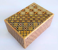 4 Sun 4 Step Yosegi Kuzushi Japanese Puzzle Box