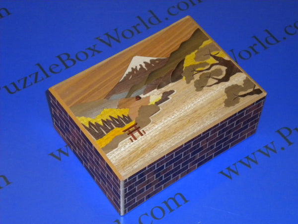 5.5 Sun 21 + 1 Step Limited Edition Asinoko Japanese Puzzle Box