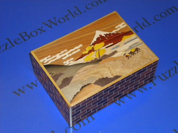 5.5 Sun 21 + 1 Step Limited Edition Touge Japanese Puzzle Box