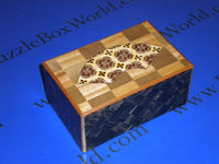 5 Sun 10 Step Limited Edition Fan Ichimatsu Japanese Puzzle Box