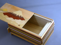 5 Sun 12 + 1 Step Hinode-Fuji Japanese Secret Puzzle Box