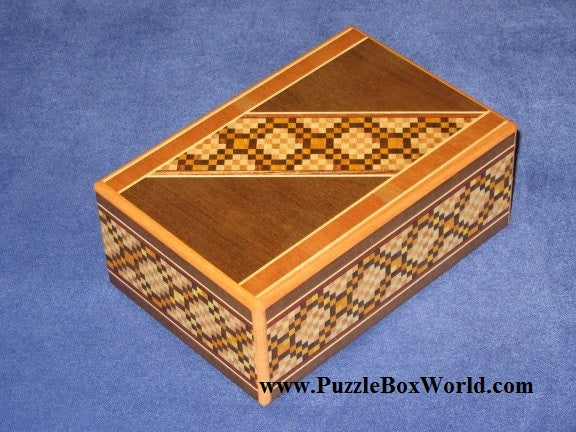 5 Sun 12 Step Limited Edition Japanese Puzzle Box