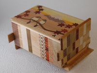5 Sun 27 Step Fuji-Bird Japanese Puzzle Box