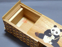 5 Sun 27 Step Panda Japanese Puzzle Box