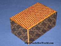 5 Sun Saya/Kirichigai North South East West Japanese Puzzle Box