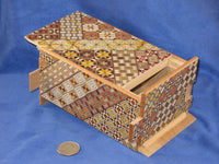 5 Sun 27 Step Yosegi Japanese Puzzle Box