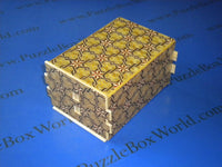 6 Sun 54 + 1 Step Rokkaku Karami Japanese Puzzle Box By Mr. Yamanaka