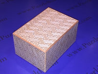 6 Sun 54 + 1 Move Shirosaya Japanese Puzzle Box By Mr. Yamanaka