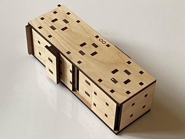The Altair 27 Step Puzzle Box