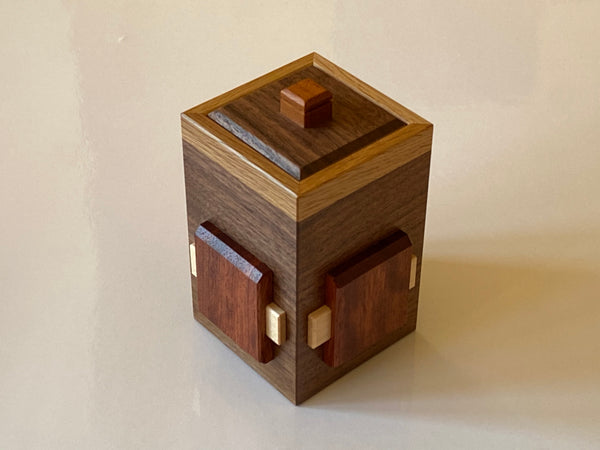 Pre-Owned Bean Bag Drawer 2 Japanese Puzzle Box by Hiroshi Iwahara