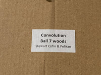 Convolution Ball Limited Edition Puzzle by Stewart Cofin and Pelikan Puzzles