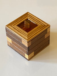 Covered Chimney  Japanese Puzzle Box  by Hiroshi Iwahara