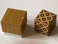 Covered Type Secret Japanese Puzzle Box by Yoshiyuki Ninomiya - HARD TO FIND!
