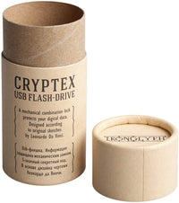 Cryptex (Antique Gold Color) USB flash drive, 32 Gb