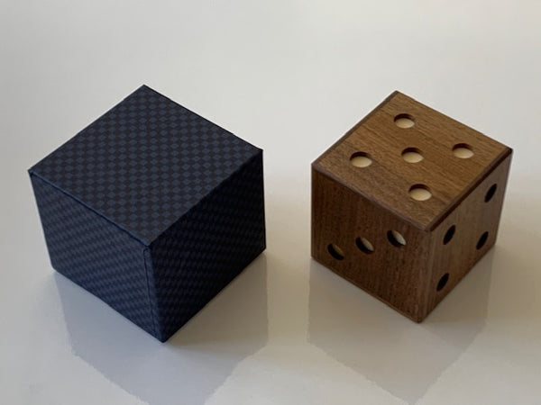 Dice Japanese Trick Box by Akio Kamei