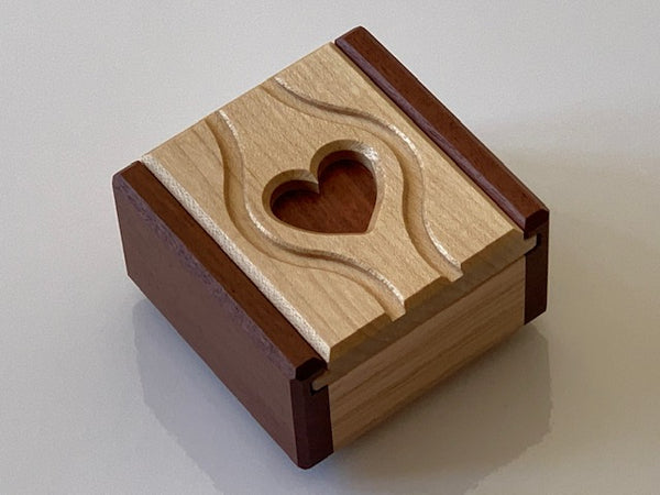 Ring Case Limited Edition Puzzle Box by Junichi Yananose
