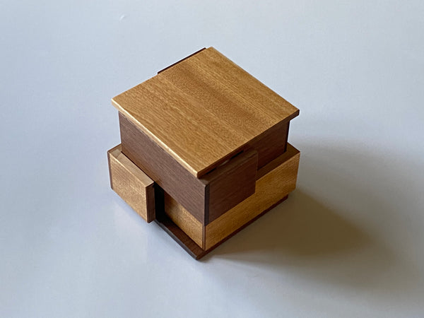 Pre-Owned Kakoi Japanese Puzzle Box by Shiro Tajima