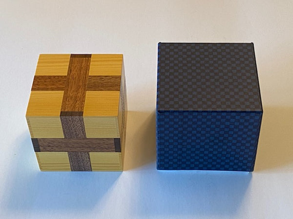 New Parcel Cube Puzzle by Akio Kamei