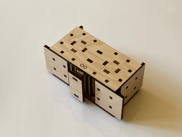 The Orion 24 Step Puzzle Box