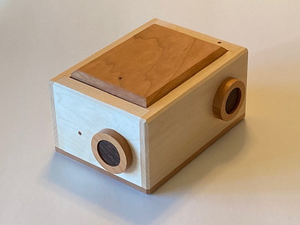 Portal Puzzle Box crafted by DedWood Crafts