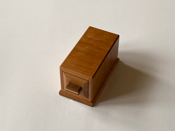 Pre-Owned Reverse Drawer Puzzle Box by Akio Kamei
