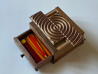 Ripple Out FIRE Limited Edition Japanese Puzzle Box by Osamu Kasho - RARE
