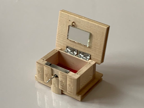 SMALL Romanian Secret Puzzle Box (NAT)