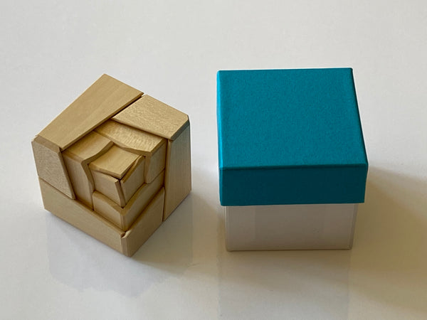 Rose Japanese Puzzle Box KW-4-2-3