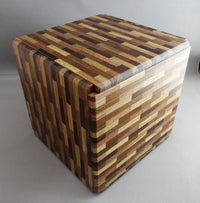 324 Step Yosegi MUKU B Super Cubi Japanese Puzzle Box