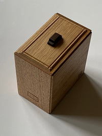 Skyscrapers Japanese Puzzle Box by Osamu Kasho