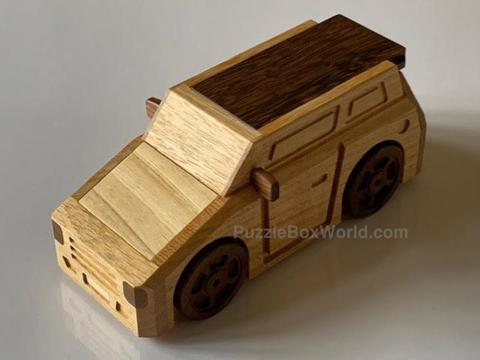 Slammed Car Limited Edition Puzzle Box by Junichi Yananose