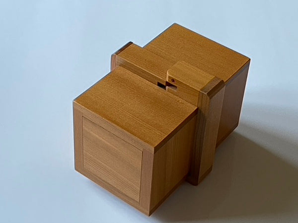 Uroboros Japanese Puzzle Box by Shiro Tajima