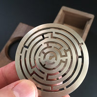 Walnut Maze Box (Easy)