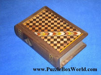 Book Japanese Puzzle Box by Akio Kamei